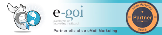 eGoi partner oficial de eMail Marketing
